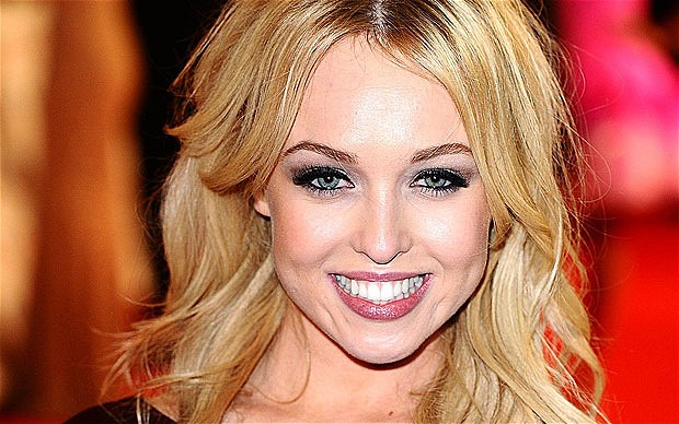Jorgie Porter Spotted Makeup-Free With Ex