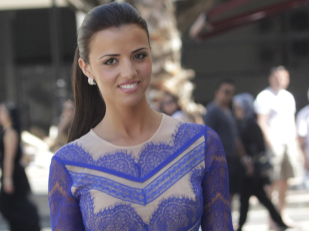 Lucy Mecklenburgh shares her fitness inspired workout figure snap