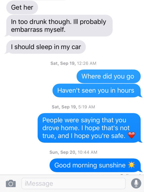 These people died after their last text conversation