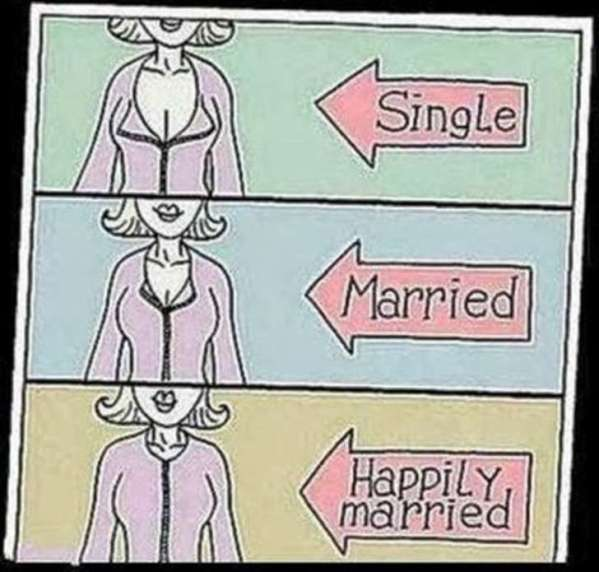 These single life vs married life memes are too hilarious2