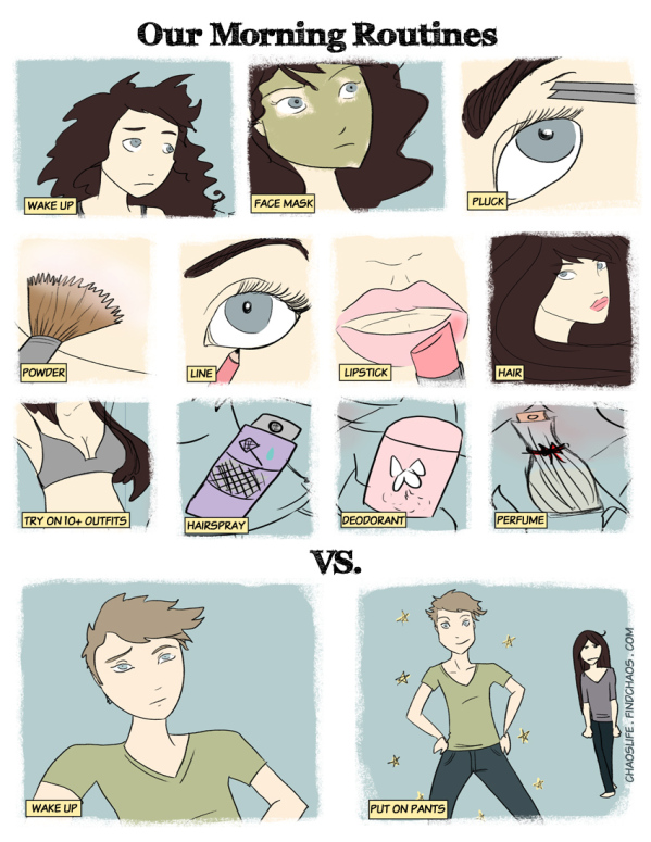 Seven amazing differences between Men and Women6