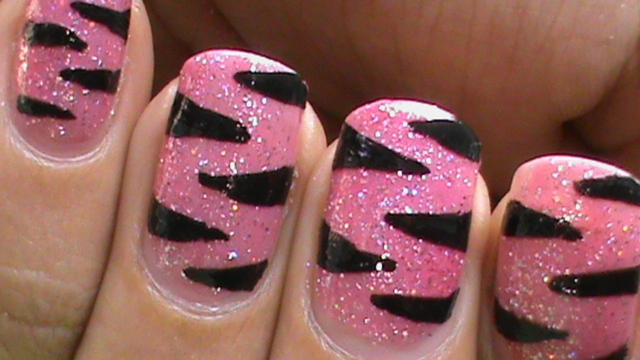20 amazing nail paint arts that every girl wants to have - Simple nail polish designs at home ...
