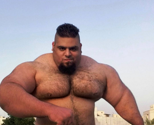 OMG ! The real life HULK spotted in Iran1