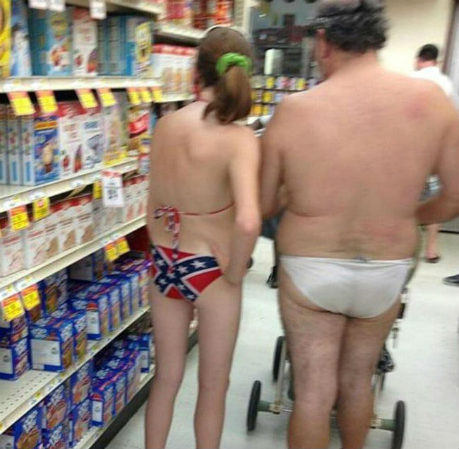 These Eight Walmart People can Win the Weird Dress Award 1