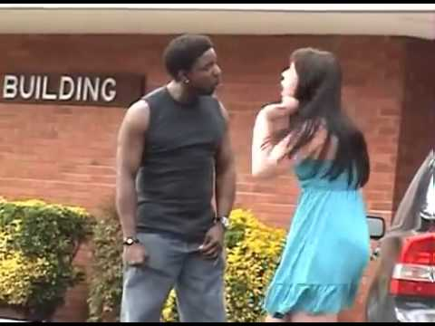 Spiderman arrives to save woman from Abusive Boyfriend3